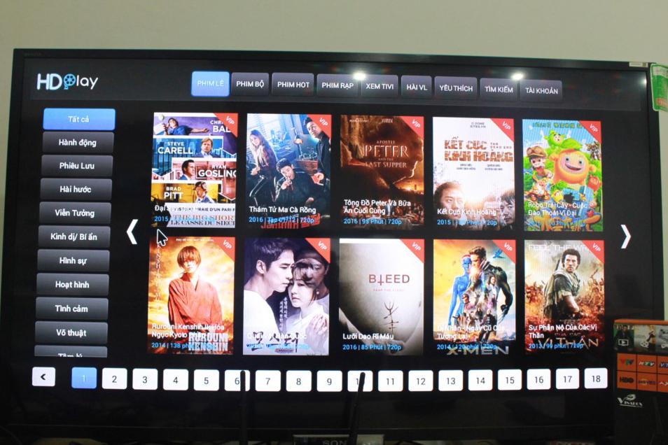 HD Play trên VinaBox X2