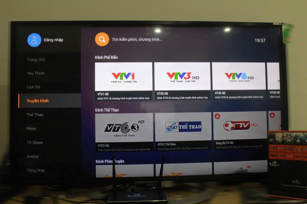 android tv box giá rẻ vinabox x2