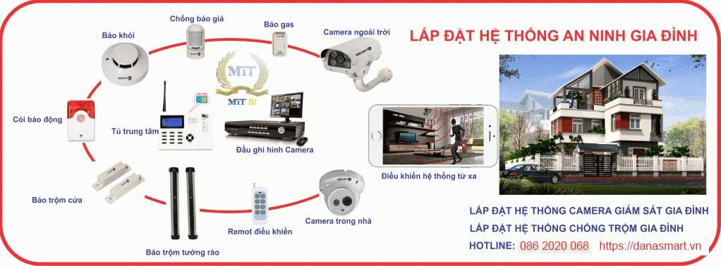 Lắp đặt Camera giá rẻ tại Đà nẵng
