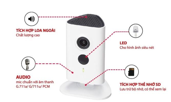 Camera IP không dây Dahua C15