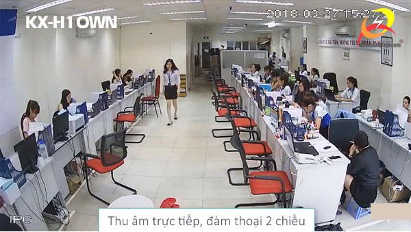 Camera IP Wifi KBVISION KX-H10WN thu âm- đàm thoại 2 chiều