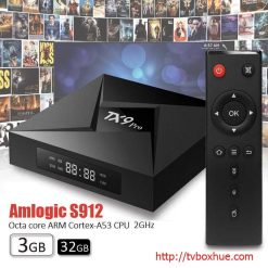 Android TV Box Tanix TX9 Pro Amlogic S912 Android 7.1, 3GB RAM, 32GB ROM