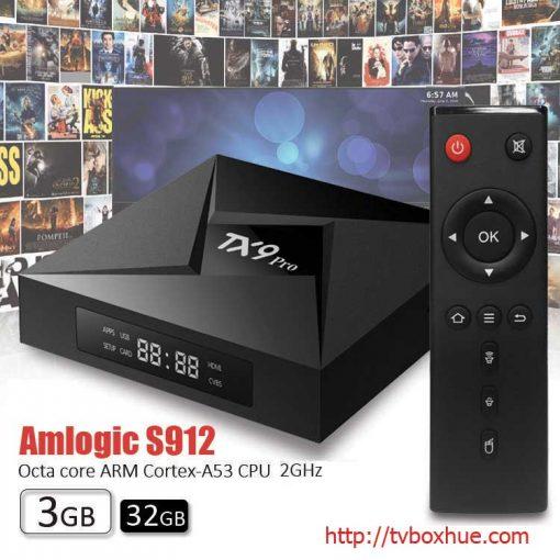 Android TV Box Tanix TX9 Pro Amlogic S912 Android 7.1, 3GB RAM, 32GB ROM