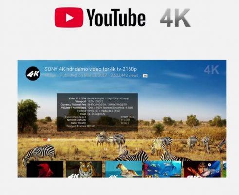 Mecool KM9 Pro hỗ trợ xem Video trên Youtube với chất lượng 4K