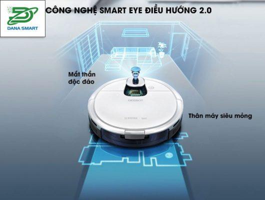 Thiết kế Robot hút bụi lau nhà ECOVACS DEEBOT DJ35