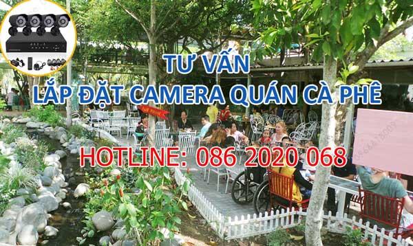 Giải pháp lắp đặt Camera quan sát cho quán Cafe