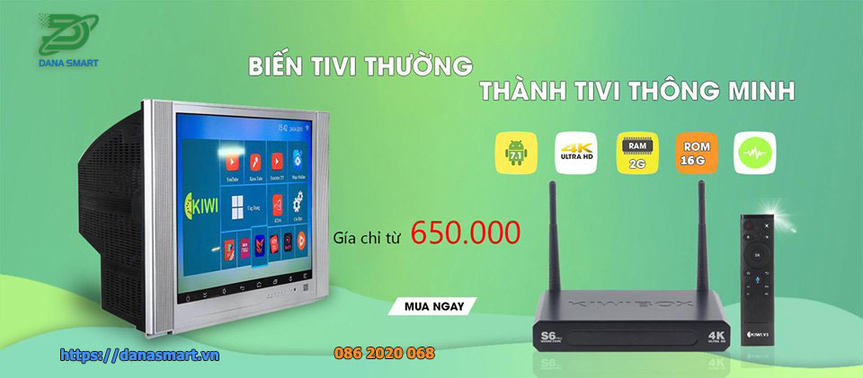 Android Tv Box Giá rẻ Chính hãng tại Đà nẵng