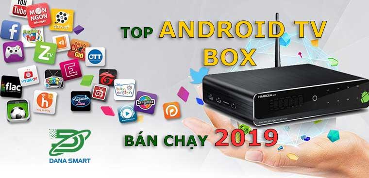 Top Android TV Box bán chạy Đà nẵng 2019